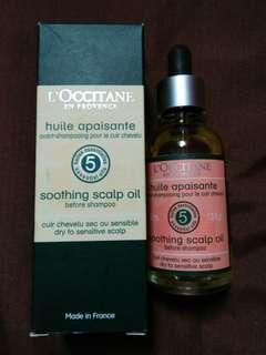 Soothing scalp oil ,