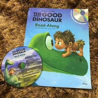 The Good Dinosaur CD and Book