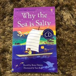 Usborne Why The Sea Is Salty CD and Book