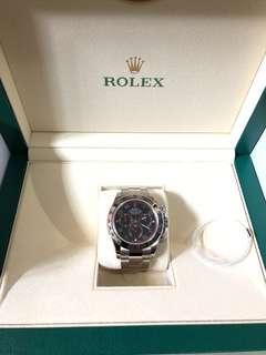Rolex Daytona 116509黑面紅針