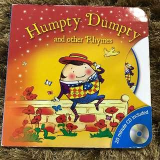 Humpty Dumpty and other Rhymes Children Books