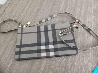 Wallet on sling bag