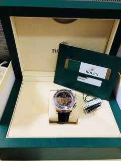 Rolex Daytona 116515ln chocolate皮帶款