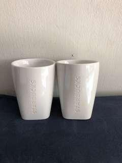 Starbucks 8oz double wall cup (2pcs)