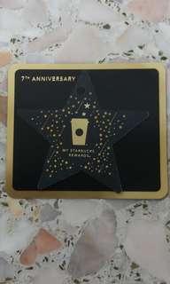 Korea starbucks card