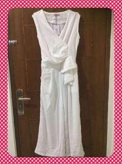 Jual Jumpsuit White Elegan