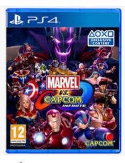 PS4 Marvel vs Capcom Infinite (中英文 連code)