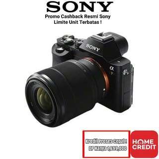 Kredit Sony A7 Kit 50 F1.8 Bandung