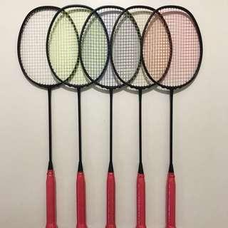 [SEP SALES] Brand New Taiwan Black Cyclone Limited Edition Badminton Racket