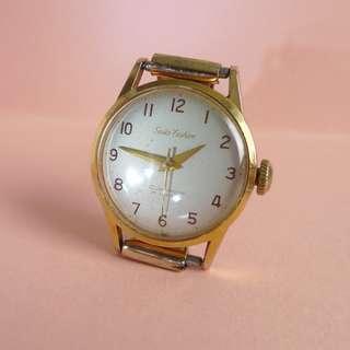 1950s' Ladies' Seiko Fashion Diashock 17-J hand-winding watch...very rare !