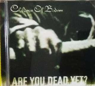 arthcd CHILDREN OF BODOM Are You Dead Yet? CD