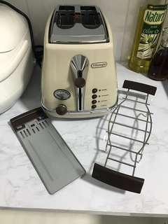 De'Longhi icona vintage toaster