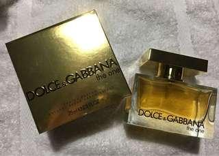 Authentic Tester Dolce & Gabbana The One