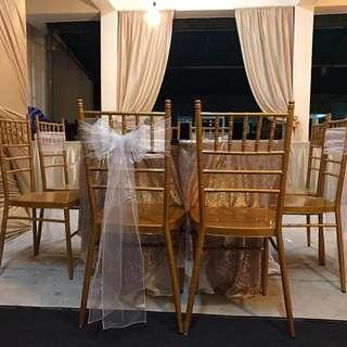 Low Grade Tiffany Chairs for Rental