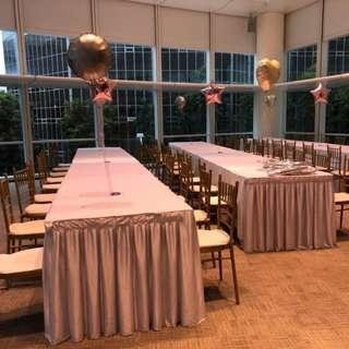 Long Tables for Rental