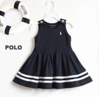 Brand New Nautical Dress For Little Girls