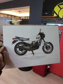 Original frame yamaha RZ250 1980