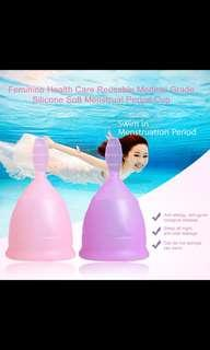 Menstrual Cup for women hygeine Medical Grade Silicon