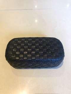 黑色編織眼睛盒