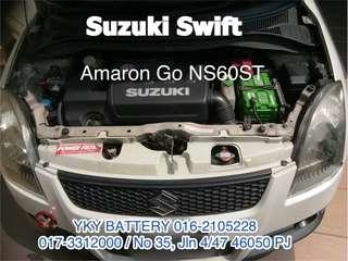Kereta Bateri Suzuki Swift , Amaron Go NS60ST