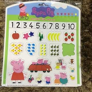 Peppa Pig Magnets Numbers