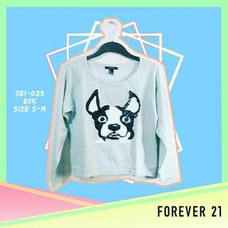 Forever 21 Green Pastel Sweater