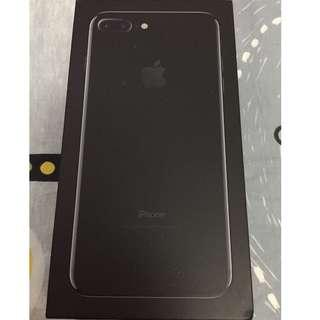 iPhone 7 Plus Jet Black( 亮黑) 128G