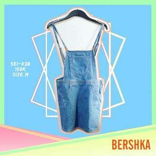 Bershka Overall Denim