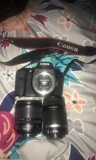 CANON 7D DSLR WITH LENSES