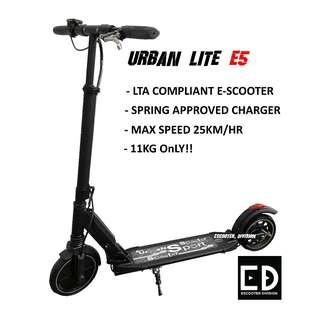 Electric Scooter (Urban lite Escooter)