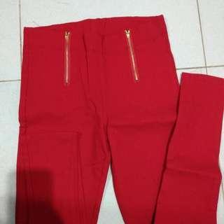 Longpants Red