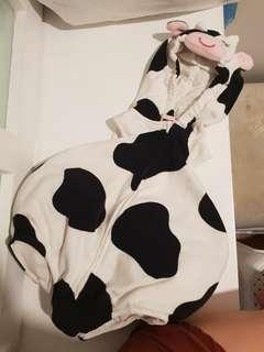 Carters cow costume for 6-9mos