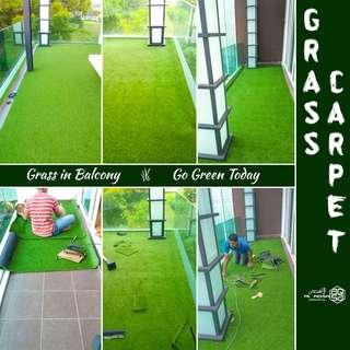 Do you want to make your balcony Grassy? Yes OR NO?