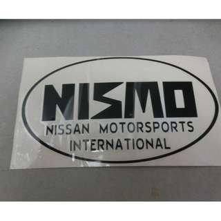 Very new Licensed Nismo  one & only, flawless condition from Japan. ONLY 1 pc left! Abbreviated from Nissan Motorsport International Limited