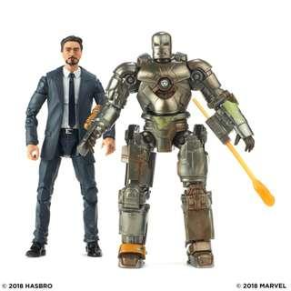 Hasbro - Marvel Legends Series - Marvel Studios: The First Ten Years - Tony Stark & Iron Man Mark I - Collectible Action Figure