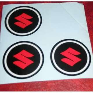Brand new licensed very high quality Suzuki decal from Japan .Only 3 pc left! Can be used on cars or motorbikes.
