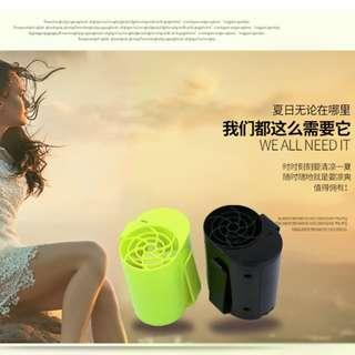 🚚 2018 Creative items Gongtian F12 Hang Waist Charging Small Fan Banana USB Fan Mini Air Conditioner Cooling Camping Free Ship