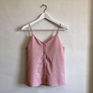 Reversible Button Down Camisole