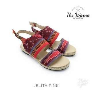 Sandal Etnik The Warna Indonesia