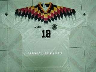 Germany 1994 home vintage jersey L