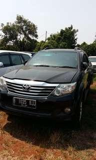 Toyota Fortuner bensin at 2013