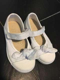 Next baby white shoes鞋仔