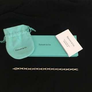 TIFFANY & CO 925 silver narrow chain bracelet 手鍊 wallet shoes