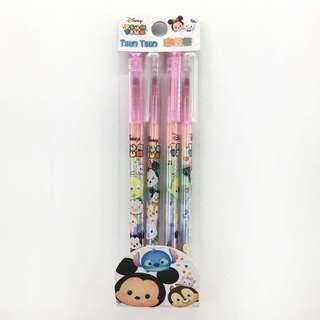 🚚 🎀 現貨!    ◽迪士尼TsumTsum彩虹筆4入 一包 $ 39◽