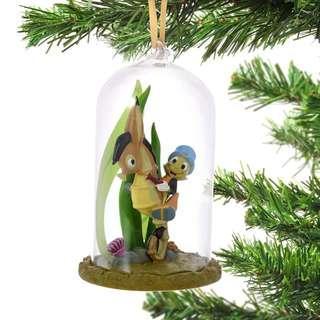 Japan Disneystore Disney Store Christmas 2018 Jiminy Cricket Dome Ornament Preorder