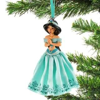Japan Disneystore Disney Store Christmas 2018 Jasmine Dress Ornaments Preorder
