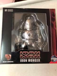 Iron man Iron Monger figure kids nations kidslogic Beast kingdom 野獸國 marvel