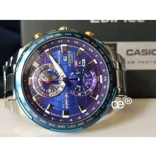 CASIO EFR-550RB-2A EDIFICE Infiniti Red Bull Racing Limited Edition WORLD TIME