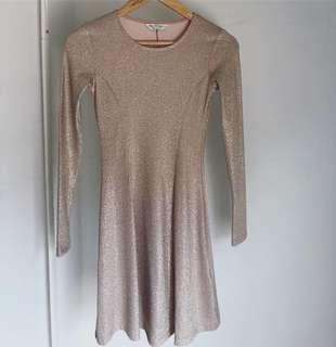 Miss Selfridge Glitter Dress