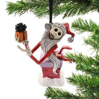 Japan Disneystore Disney Store Christmas 2018 Jack Skellington Santa Ornament Preorder